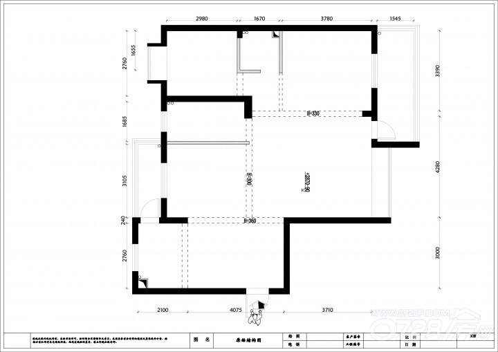 元泰未来城2号楼1单元04户型设计方案