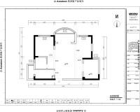 御台公馆平面施工图-Model